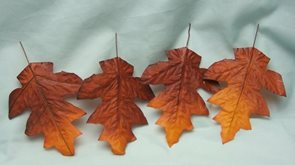 Podzimní list 12ks