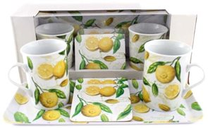 Snídaňová sada Citrony