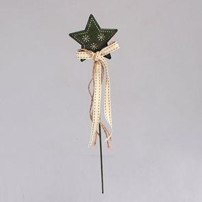 Hvězda zelená pro zapíchnutí