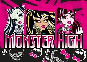 Dětský koberec Monster High - High Skull 95 x 133 cm