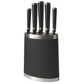 Blok na nože Black + 5 nožů