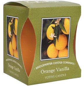 Votivní vonná svíčka Orange Vanilla