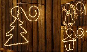 Závěsné vánoční osvětlení Lucerna
