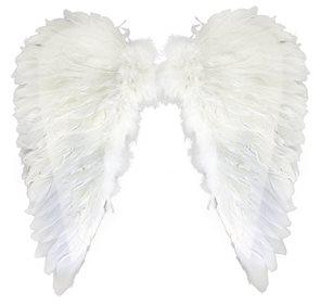 Andělská křídla z peří