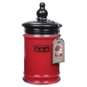 Exkluzivní vonná svíčka Cranberry velká