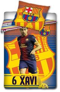 Fotbalové povlečení FC Barcelona Xavi 2014 140 x 200 cm