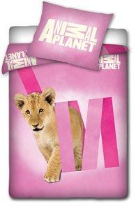 Povlečení Animal Planet Lev 140 x 200 cm