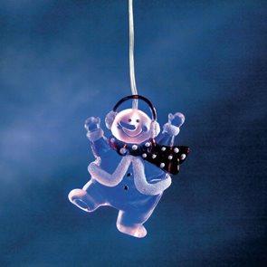 Svítící sněhulák LED