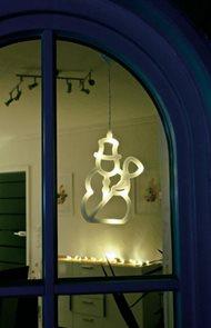 Svítící LED ozdoba Sněhulák