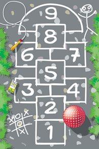 Dětský koberec Hrací koberec Panák 100 x 150 cm