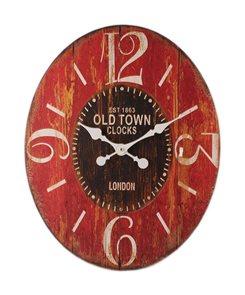 Hodiny Old Town oválné