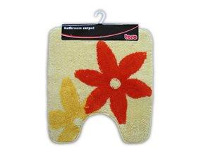 Předložka na WC Květy žluté