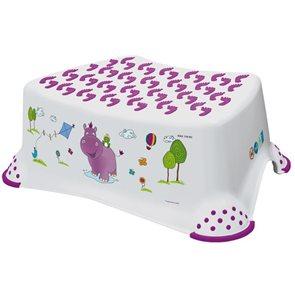 Dětská stolička OKT HIPPO - bílá