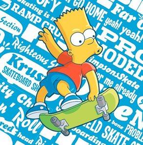 Polštářek The Simpsons Bart