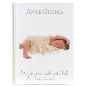 Anne Geddes Kniha Mých prvních pět let Lael