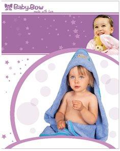 Baby Bow Dětská froté souprava modrá