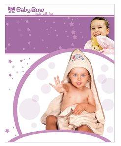 Baby Bow Dětská froté souprava béžová