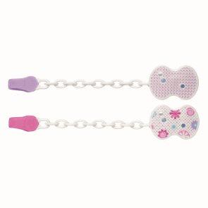 Chicco Řetízek plast růžový