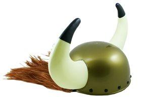 Helma Viking plastová s vlasy