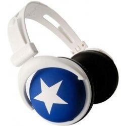 Sluchátka s hvězdou - modré