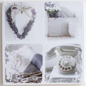 Obraz Lavander Telephone 60 × 60 cm