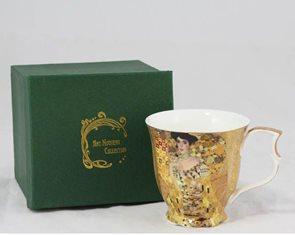 Porcelánový hrnek G. Klimt - Adéle 200 ml