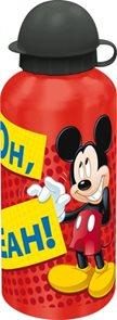 Hliníková láhev Mickey červená