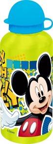 Hliníková láhev Mickey světle zelená