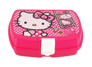 Svačinový box Hello Kitty Pink