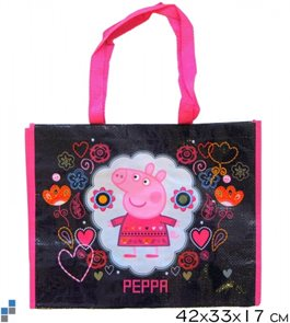 Nákupní taška Peppa / Pepina černá