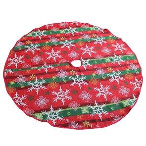 Gobelínová podložka pod vánoční stromek Sněhová vločka