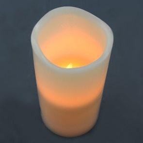 LED svíčka vosková 15 cm