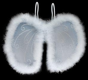 Andělská křídla s peřím