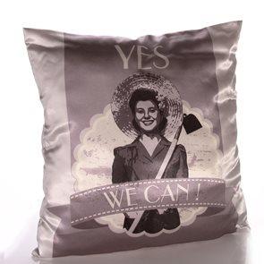 Povlak na polštář Retro - Yes, we can