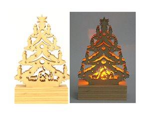 LED Vánoční svícen Stromeček