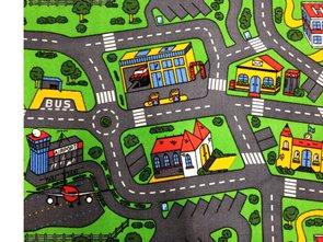Dětský koberec City Life 200 x 200 cm
