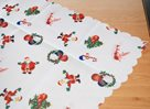 Vánoční ubrus Santa 80 × 140 cm