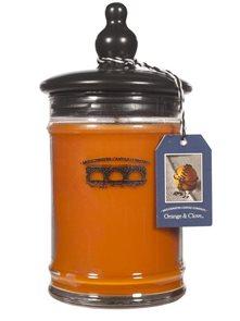 Exkluzivní vonná svíčka Orange & Glove velká