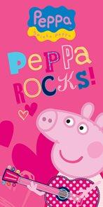 Dětská osuška Prasátko Peppa Pepina Rocks