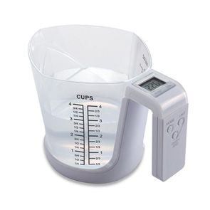 Odměrka s digitální váhou 3 kg