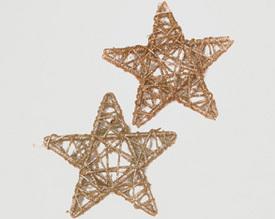 Sada dekorativních hvězd 2 ks