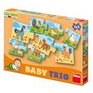 Puzzle Baby trio 8×3 rodina