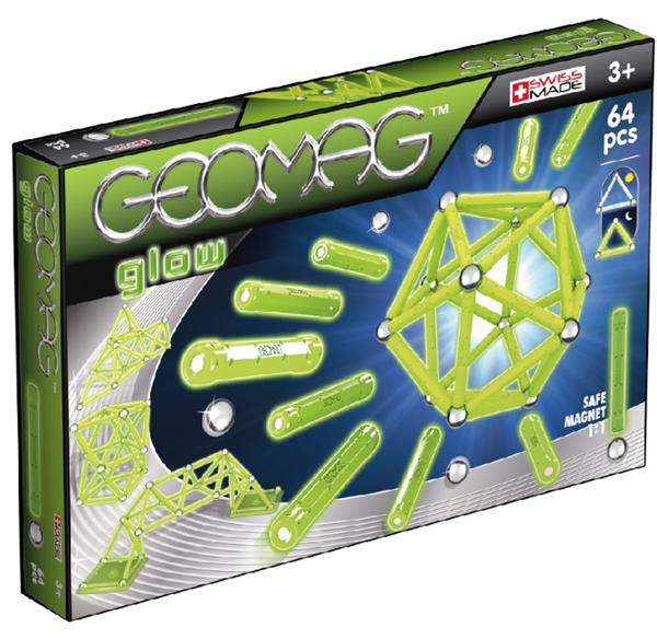Geomag Glow 64 dílů