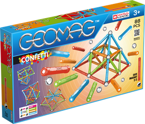 Geomag Confetti 88 dílů