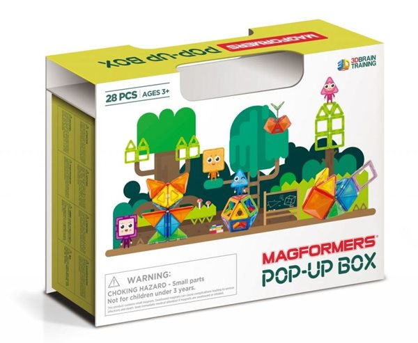 Magformers POP-UP box