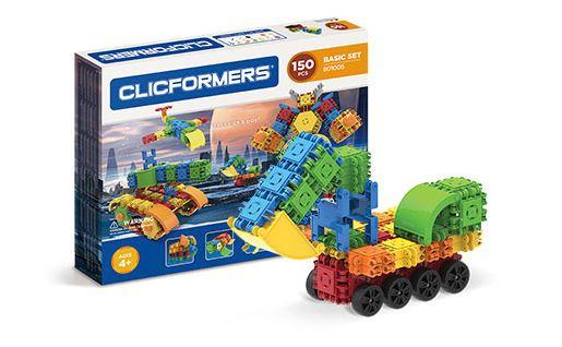 Clicformers - stavebnice 150 dílů, Sleva 5%