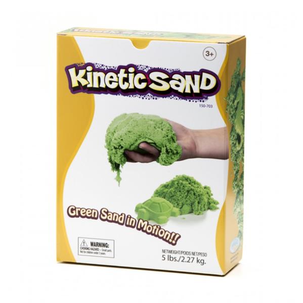 Kinetický písek 2,3 kg - zelený