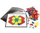 Barevné geometrické tvary - sestava