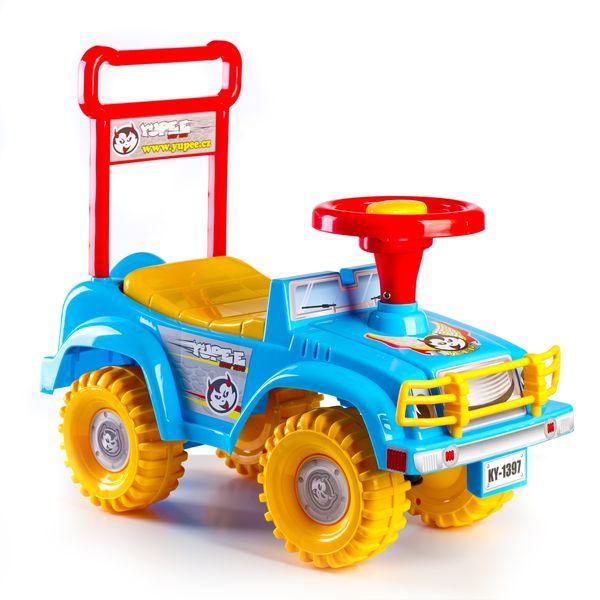 Odrážedlo auto Jeep Yupee - modré