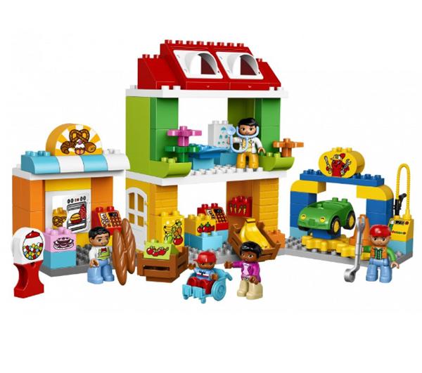 LEGO DUPLO 10836 Náměstí - DUPLO Moje město, Doprava zdarma